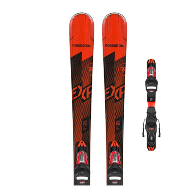 ROSSIGNOL - EXPERIENCE 80 CI + XP11 GW - Pack skis all-mountain + Fixations Homme