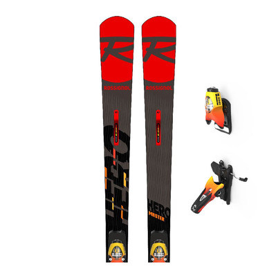 ROSSIGNOL - HERO MASTER R22 + SPX15 RKR FM - Pack skis race + Fixations Homme