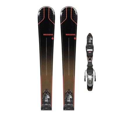 ROSSIGNOL - EXPERIENCE 76 CIW XP + XP W10 GW - Pack skis all-mountain + Fixations Femme