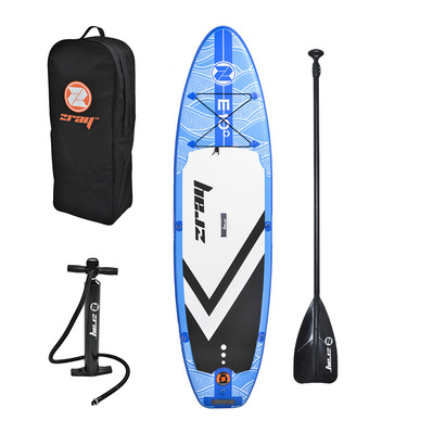 "Z-RAY - EVASION DELUXE 9'9"" 2020 - Inflatable SUP Board - blue + Accessories"