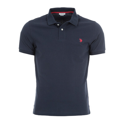 US POLO ASSN - US Polo INSTITUTIONAL SS - Polo Uomo blu mare