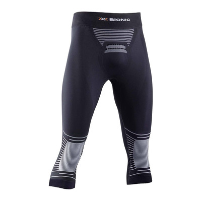 X-BIONIC - ENERGIZER P 3/4 M - 3/4 Leggings - Men's - opal black/arctic white