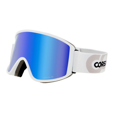 COREUPT - 19013 - Maschera da sci white flash blue