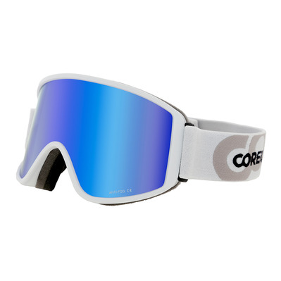 COREUPT - 19011 - Maschera da sci white/flash blue