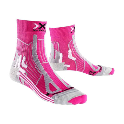 XSOCKS - X-Socks TRAIL ENERGY - Calze Donna pink/grey melange