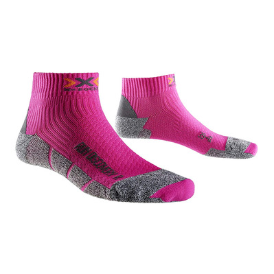 XSOCKS - X-Socks RUN DISCO V2 - Calze Donna fushia/grey melange