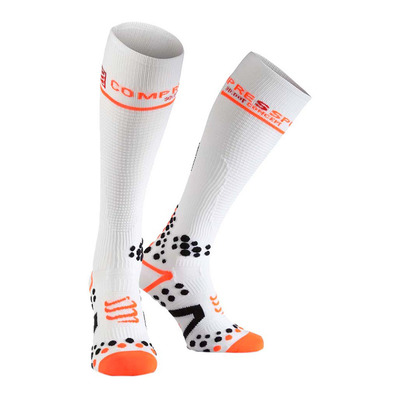 COMPRESSPORT - V2.1 FULL - Calze white