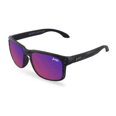 THE INDIAN FACE - FREERIDE SPIRIT - Polarised Sunglasses - grey/red revo