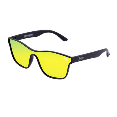 THE INDIAN FACE - OXYGEN - Polarised Sunglasses - black/yellow