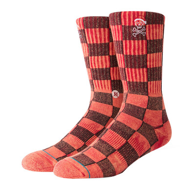 STANCE - FOUNDATION SANTARCHY - Calze Uomo  red