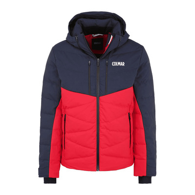 COLMAR - M. DOWN SKI JACKET Homme BRIGHT RED-BLUE BLAC1064-1VC-15