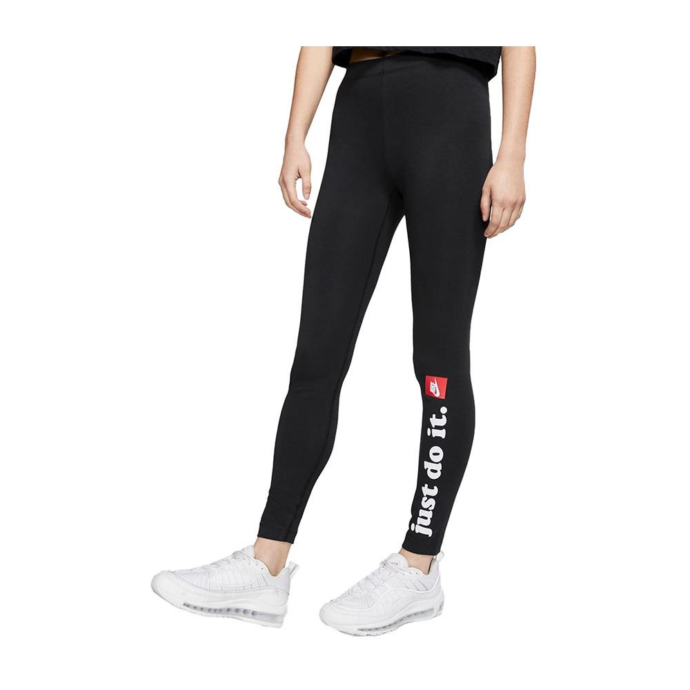 Superficial identificación Meditativo  NIKE Nike SPORTSWEAR CLUB - Legging Femme black/white/red - Private Sport  Shop
