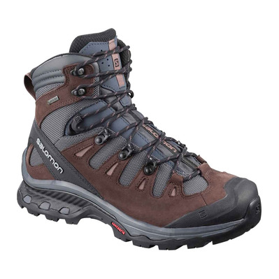 SALOMON - QUEST 4D 3 GTX - Zapatillas de senderismo mujer ebony/chocolate plum/peppercorn