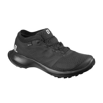 SALOMON - SENSE FLOW GTX - Trail Shoes - Women's - black/black/black