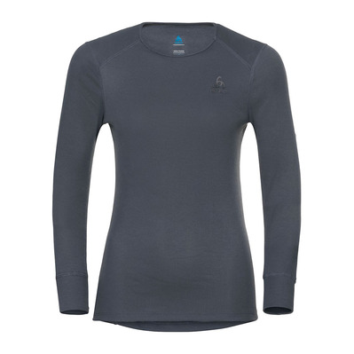 ODLO - ACTIVE WARM ECO - Maglia termica Donna india ink