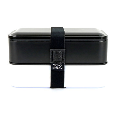 YOKO DESIGN - 1388 - Lunch Box 2 bandejas 1.2L black
