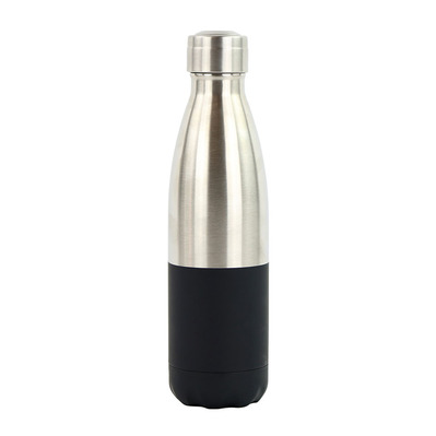 YOKO DESIGN - DUO - Bottiglia isotermica 500ml silver/black