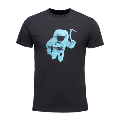 BLACK DIAMOND - SPACESHOT - T-shirt Uomo black/dual blue