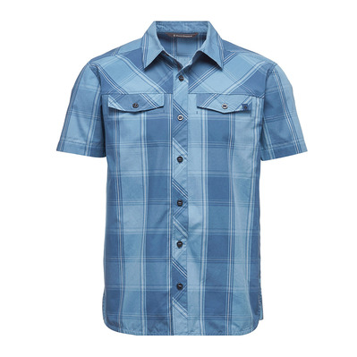 BLACK DIAMOND - TECHNICIAN - Camicia Uomo ink blue/denim plaid