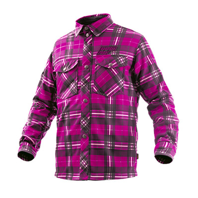 ENERGIAPURA - SCOTLAND - Camisa junior quadro fuchsia
