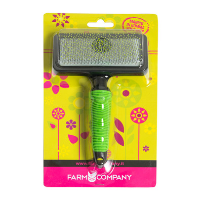 FARM COMPANY - SOFT SLICKER - Cepillo green