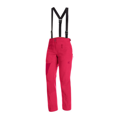MAMMUT - BASE JUMP TOURING - Ski Pants - Women's - dragon fruit/scooter