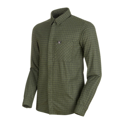 MAMMUT - WINTER - Shirt - Men's - iguana/dark iguana