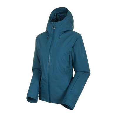 MAMMUT - CASANNA - Ski Jacket - Women's - wing teal