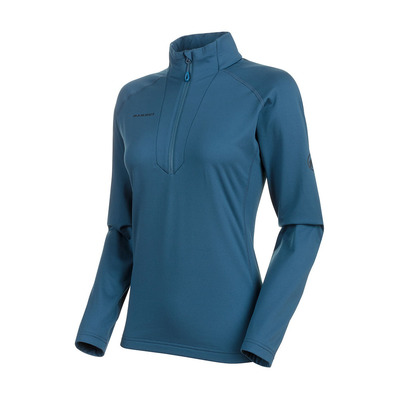 MAMMUT - SNOW HALF ZIP - Jumper - Women's - wing teal