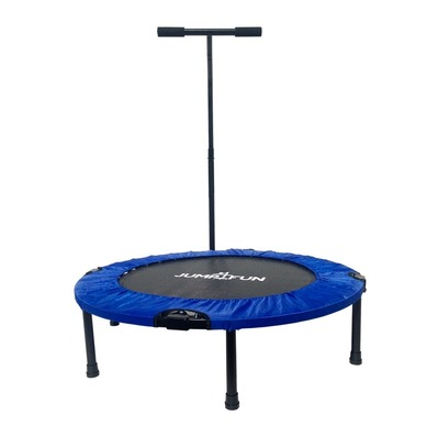 JUMP4FUN - T-BAR 92cm - Mini tappeto elastico fitness blu