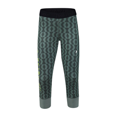 PEAK PERFORMANCE - SPIRIT SHORT JOHNS - Calzamaglia Donna pattern green