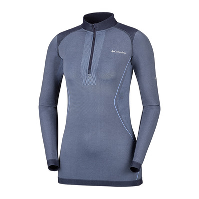 COLUMBIA - ENGINEERED HALF ZIP - Base Layer - Women's - bluebell