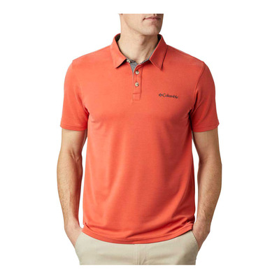 COLUMBIA - NELSON POINT™ - Polo - Men's - wildfire