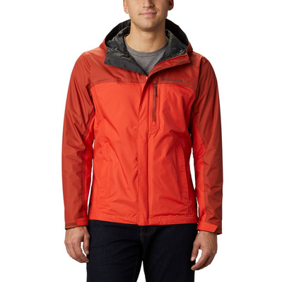 COLUMBIA - POURING ADVENTURE™ II - Jacket - Men's - wildfire/carne