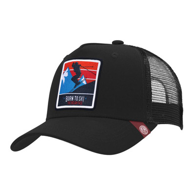 THE INDIAN FACE - BORN TO SKI - Casquette black