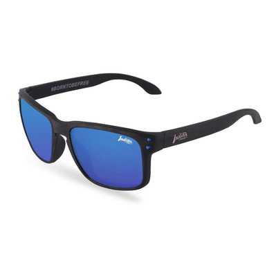 THE INDIAN FACE - FREERIDE SPIRIT - Polarised Sunglasses - wood/blue