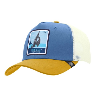 THE INDIAN FACE - BORN TO SAIL - Cap - blue/yellow/white