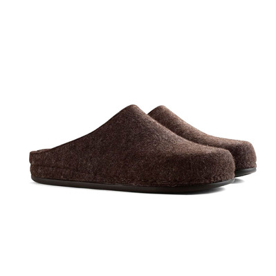 TRAVELIN' - BE-HOME - Slippers - Men's - brown