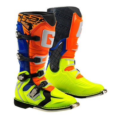 GAERNE - G.REACT GOODYEAR - Botas off-road hombre orange/blue
