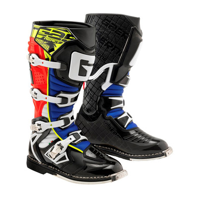 GAERNE - G.REACT GOODYEAR - Botas off-road hombre red/yellow
