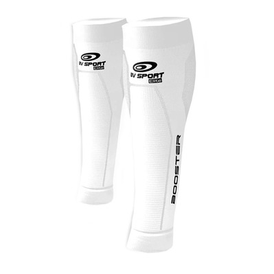 BV SPORT - BOOSTER ELITE - Manchons compression blanc