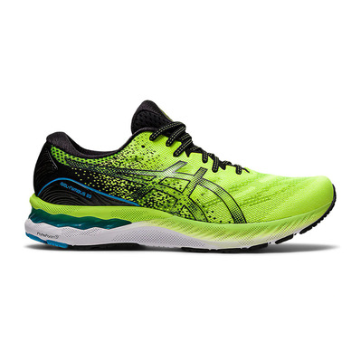 ASICS - GEL-NIMBUS 23 - Chaussures running Homme hazard green/black
