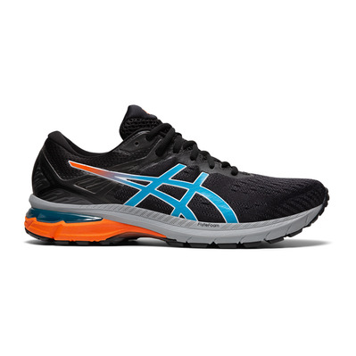 ASICS - GT-2000 9 TRAIL - Trail Shoes - Men's - black/digital aqua