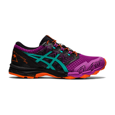 ASICS - GEL-FUJITRABUCO SKY - Trail Shoes - Women's - digital grape/baltic jewel