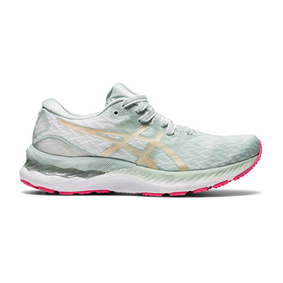 ASICS - GEL-NIMBUS 23 - Running Shoes - Women's - lichen rock/champagne