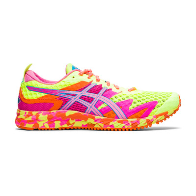 ASICS - GEL-NOOSA TRI 12 - Chaussures running Femme safety yellow/dragon fruit