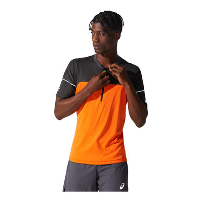 ASICS - FUJITRAIL - Jersey - Men's - marigold orange