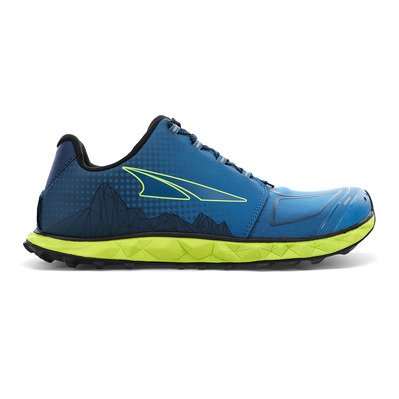 ALTRA - SUPERIOR 4.5 - Trail Shoes - Men's - blue/lime