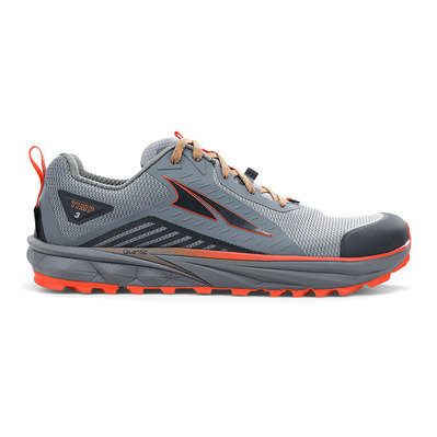 ALTRA - TIMP 3 - Trail Shoes - Men's - grey/orange