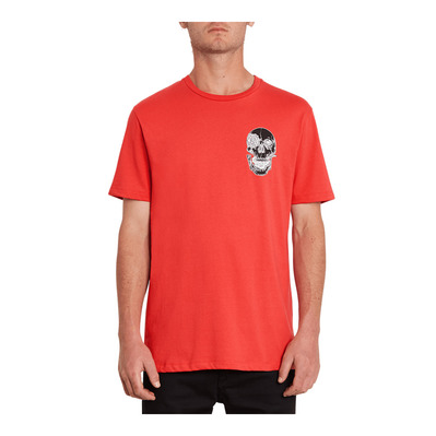 VOLCOM - FORTIFEM FA - T-Shirt - Men's - carmine red